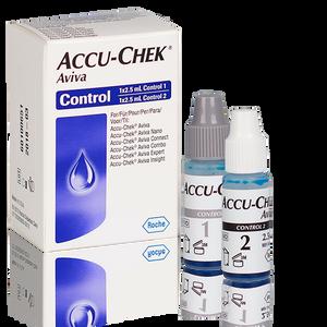 Accu-Chek Aviva solutions de contrôle 2x2,5ml