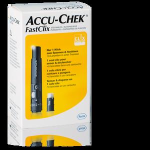 Accu-Chek FastClix Kit inkl. 1x 6 Lanzetten