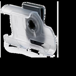 Accu-Chek Combo Halterung Clip Case transparent