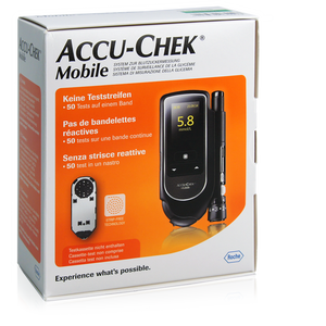 Accu-Chek Mobile Set mmol/L sans tests