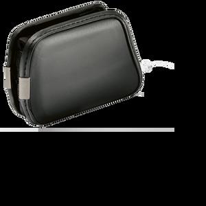 Accu-Chek Combo Etui aus Leder mit Clip horizontal schwarz (Hard Shell)