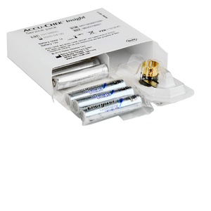 Accu-Chek Insight Service Pack (12 Batt./1 Deckel) für 6 Monate