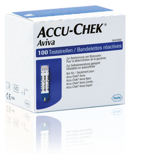 Accu-Chek Aviva bandelettes de test 100 (2x50)