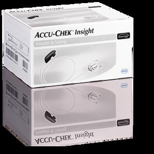 Accu-Chek Insight adattore e catetere 40cm 10 pezzi