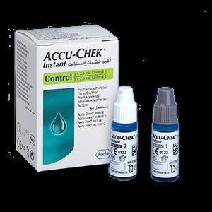 Accu-Chek Instant solutions de contrôle 2x2,5ml