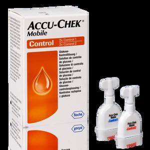 Accu-Chek Mobile solutions de contrôle 2x2ml