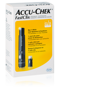 Accu-Chek FastClix kit incl. 1x 6 lancettes