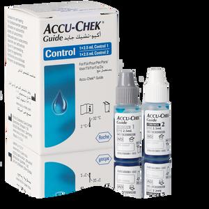 Accu-Chek Guide solutions de contrôle 2x2,5ml