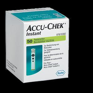 Accu-Chek Instant bandelettes de test 50